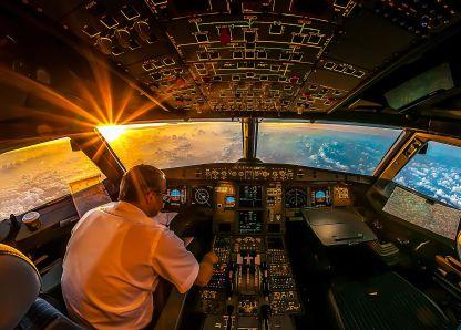 Manuel il pilota, dal volo al sogno del triathlon