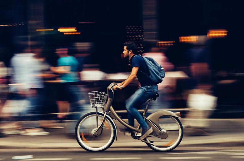 La bicicletta fa rumore