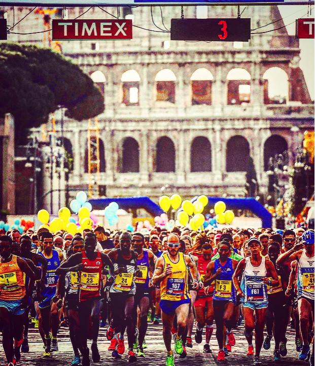 La Maratona di Roma e i consigli dalle strade