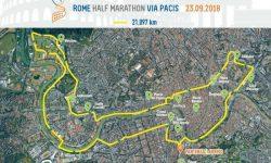 Rome Half Marathon Via Pacis finalmente ci siamo