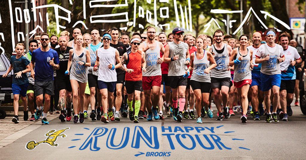 I Run happy tour della Brooks