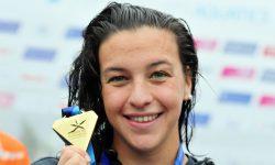 Arianna Bridi la maratoneta d'oro del nuoto