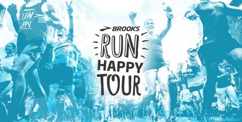 Run Happy tour Brooks eccolo a Roma
