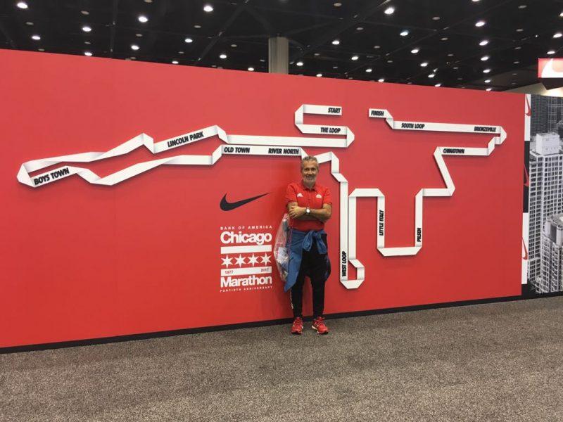 Bank of America Chicago Marathon e gli amici veloci come il vento!