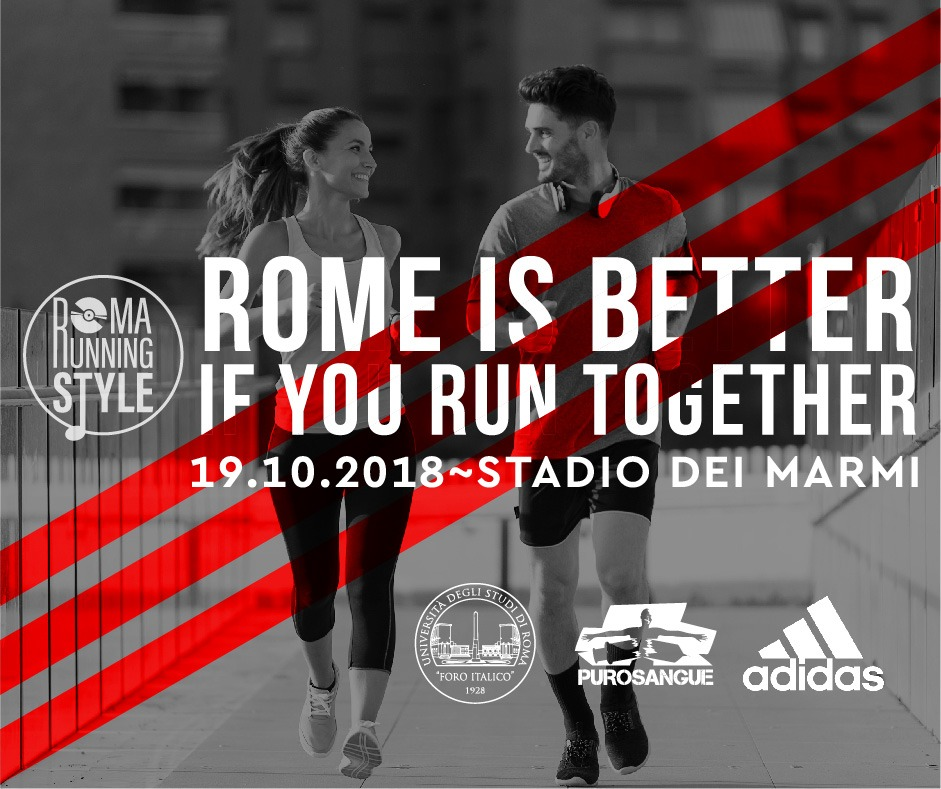 Roma Running Style firmato Purosangue torna in pista!
