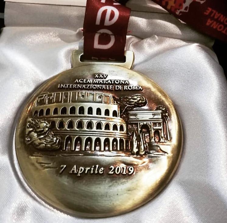 Ecco come è nata la medaglia della Maratona Internazionale di Roma