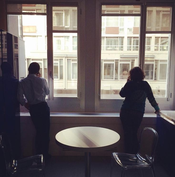 Vivere e lavorare in un open space