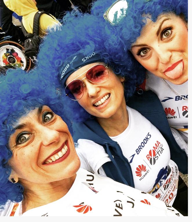 Brooks Party Run alla Roma Ostia e gli amici quelli belli