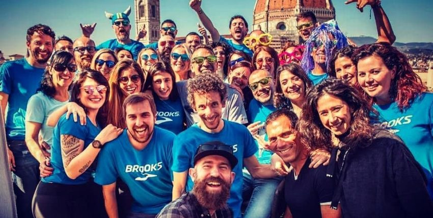 Run Happy Team eccolo pronto al via