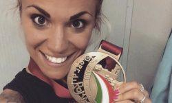 Eleonora Corradini e quel sorriso da zero a cento