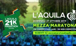 La Mezza Maratona de L'Aquila per far correre ancora una città