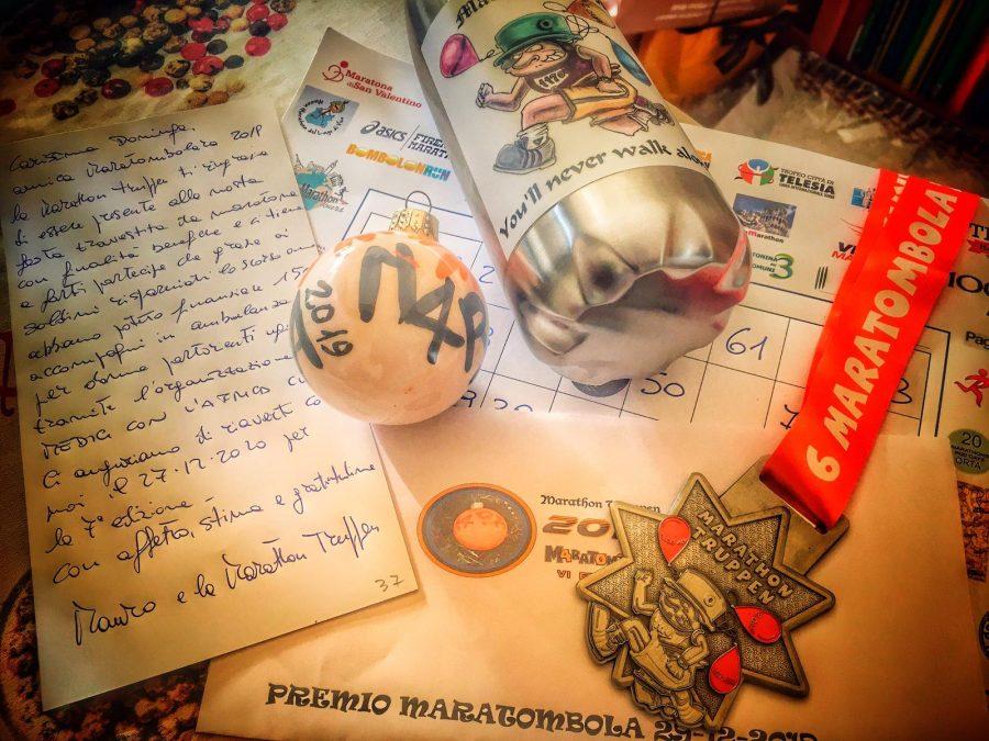 La Maratombola, una poesia e tanti cari amici