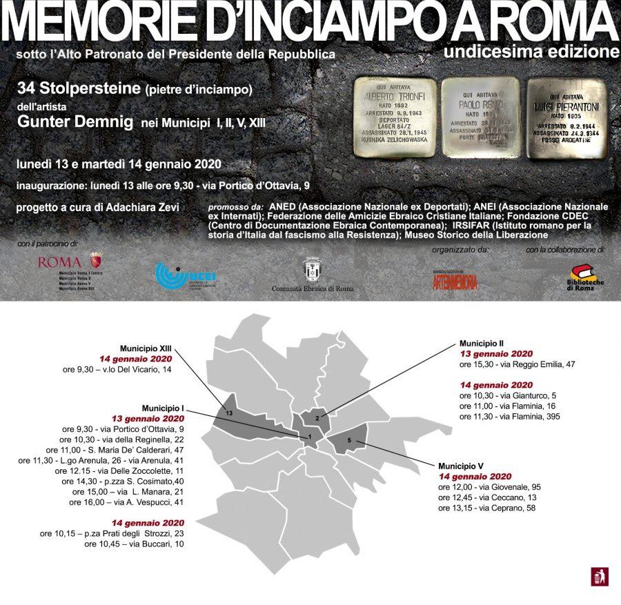 La Memoria d'Inciampo di Umberto Spizzichino