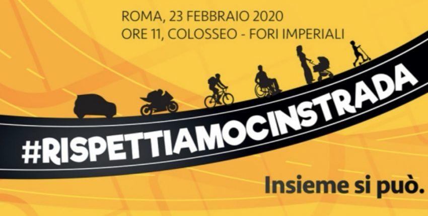 #RISPETTIAMOCINSTRADA: Domenica 23 febbraio ore 11 tutti al Colosseo!