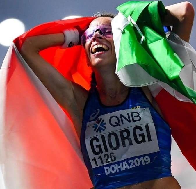 Eleonora Anna Giorgi in marcia verso Tokyo