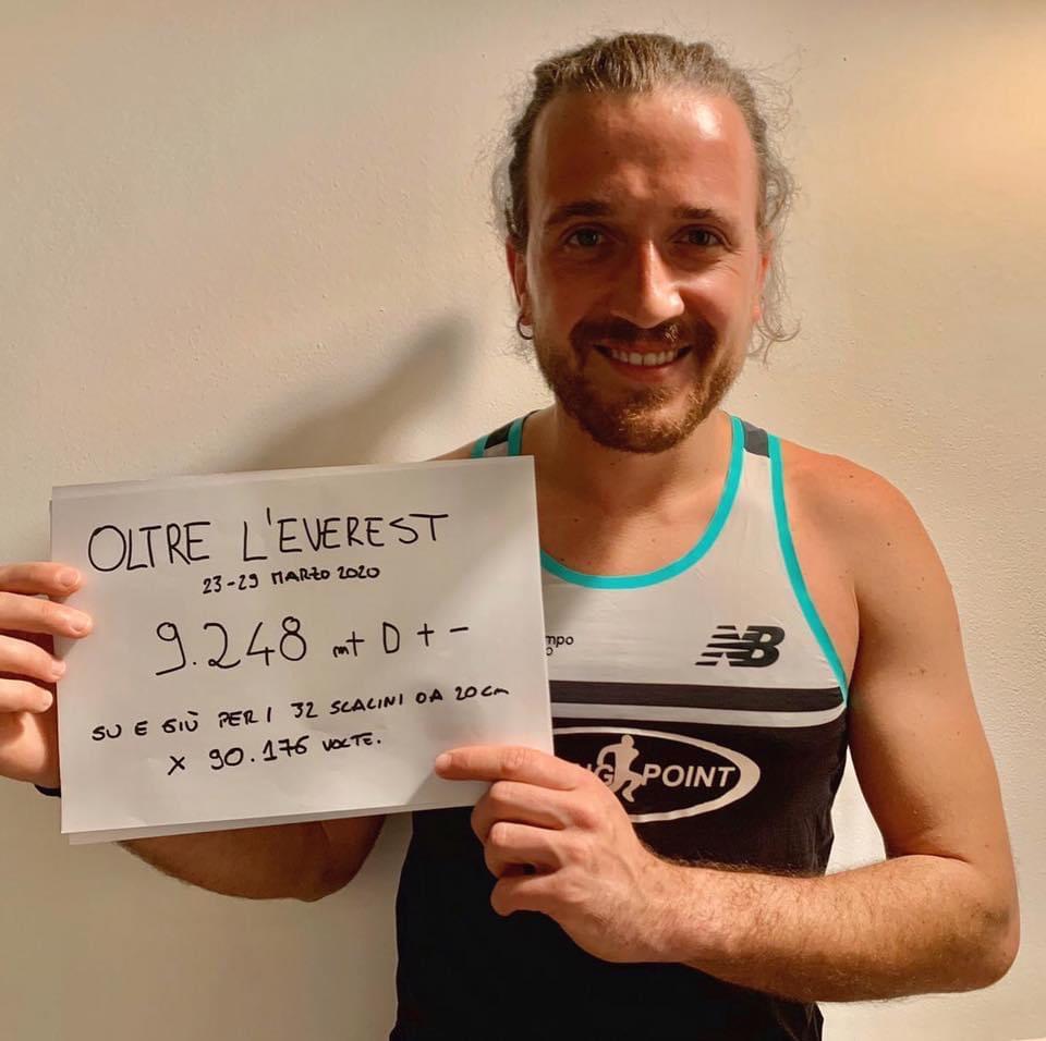 Alex Tucci oltre l'Everest per superare il tetto del mondo