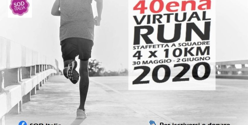 La nostra 40ena Virtual Run