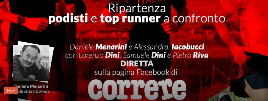 Correre Magazine, in diretta Facebook coi top runner