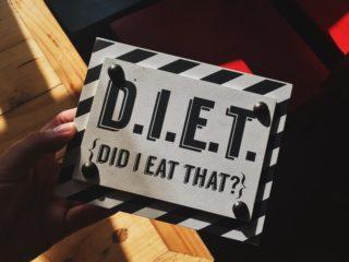 Dieta, che brutta parola