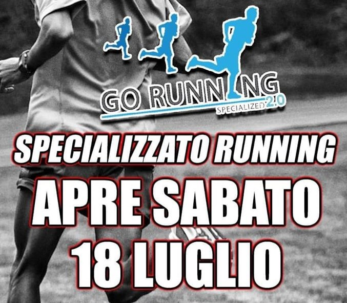 In bocca a lupo Go Running 2.0