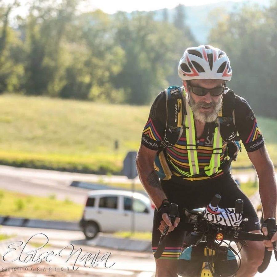 Andrea Accorsi e il suo Giro d'Italia in Solitaria – GINS 2020