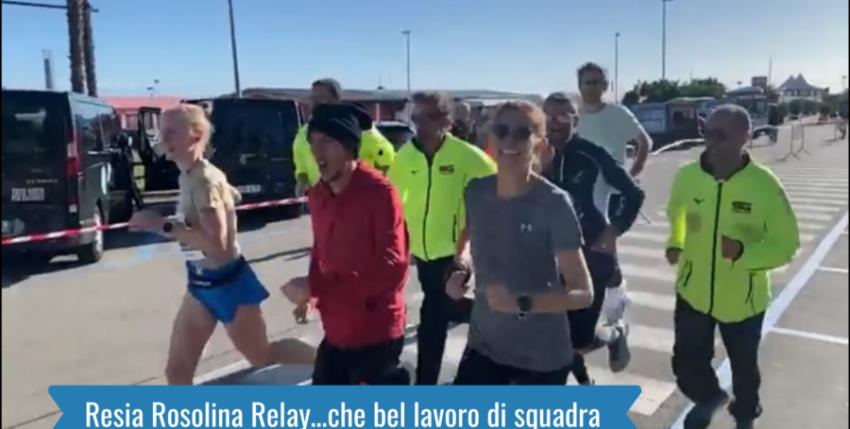 Resia Rosolina Relay…che bel lavoro di squadra