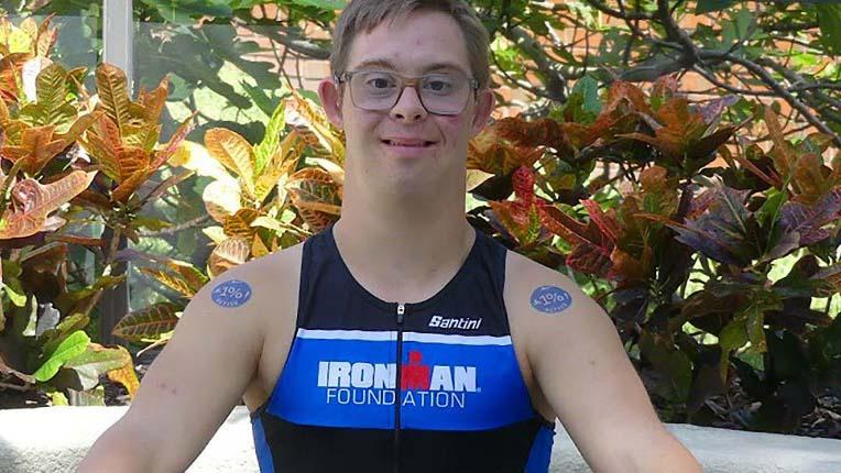 """""""Sono Chris ho la sindrome di Down e completerò l'Ironman"""""""