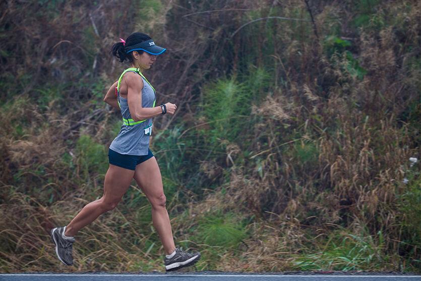 Pensieri di una runner sotto la pioggia