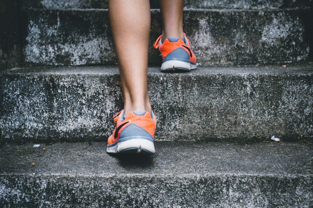 attività fisica scarpe