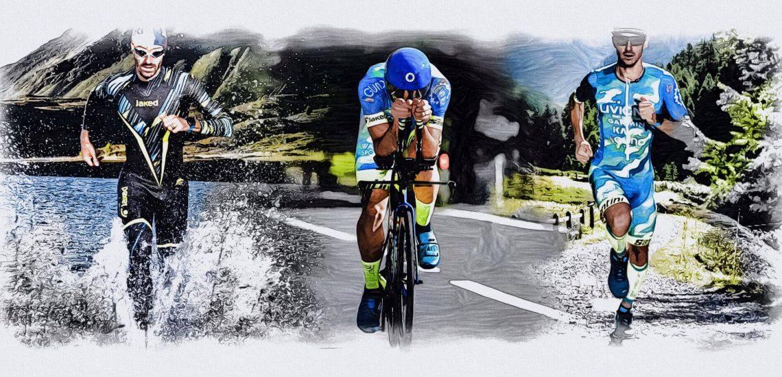 Giulio Molinari racconta il suo triathlon