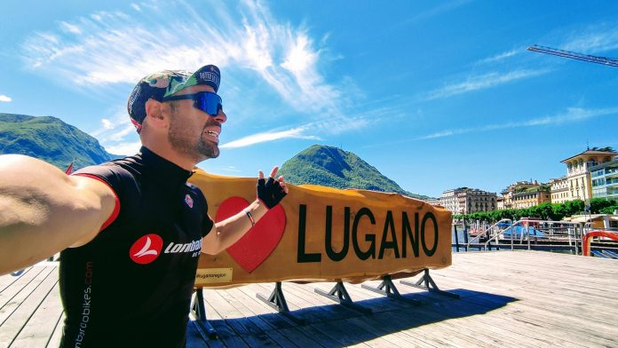 Da Trapani a Lugano viaggio in bici in bici