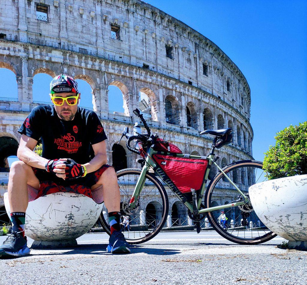 """Giuseppe Bica """"Tutto lo Stivale"""" (viaggio in bici)"""