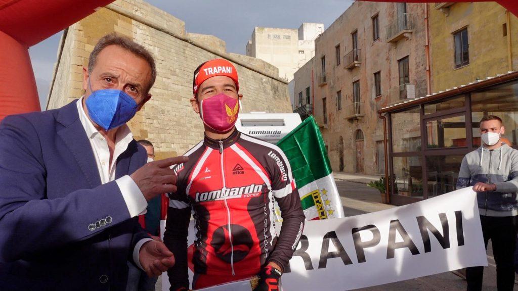 Giacomo Tranchida - Giuseppe Bica- Trapani ( il suo viaggio in bici)