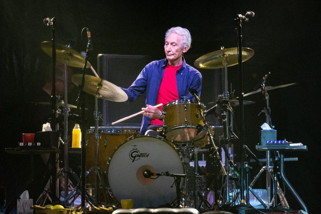 Charlie watts drums