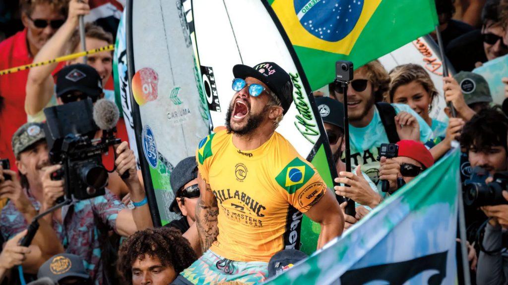 Italo Ferreira vincente in gara