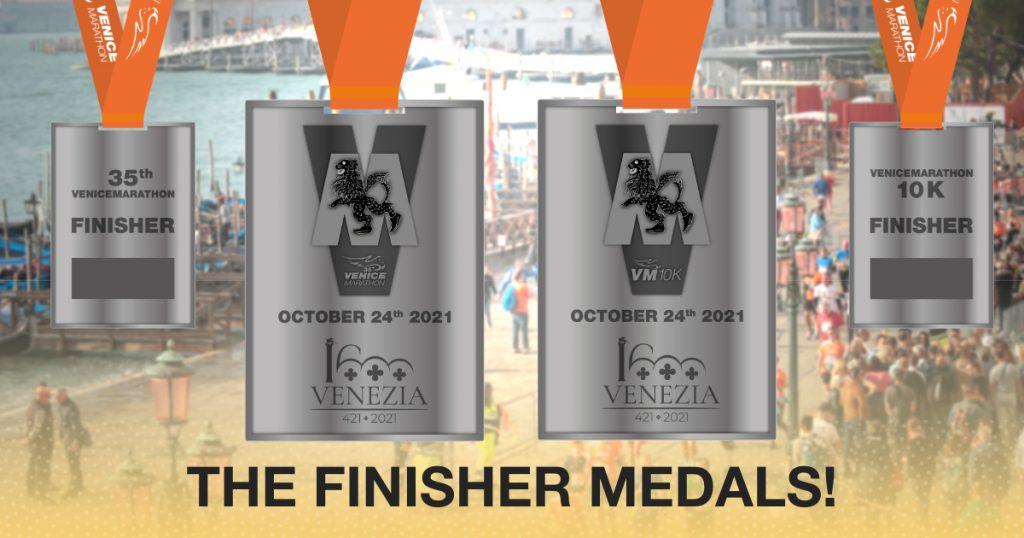 Medaglia ufficiale Venicemarathon